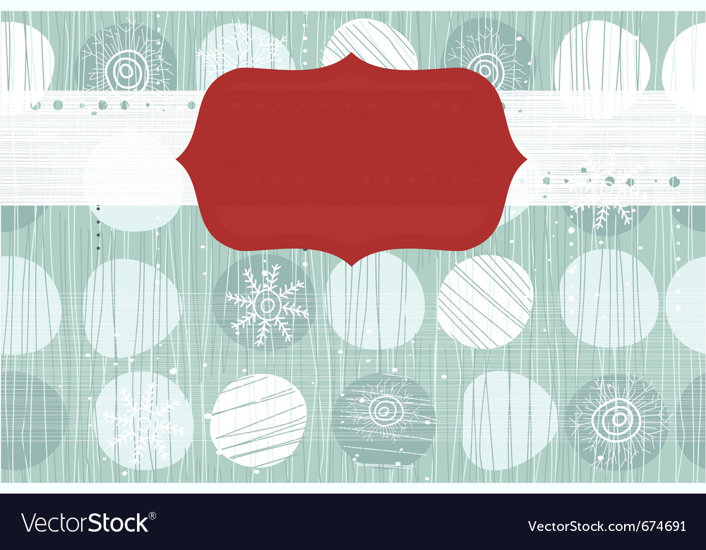 Christmas wallpaper vector | Price: 1 Credit (USD $1)