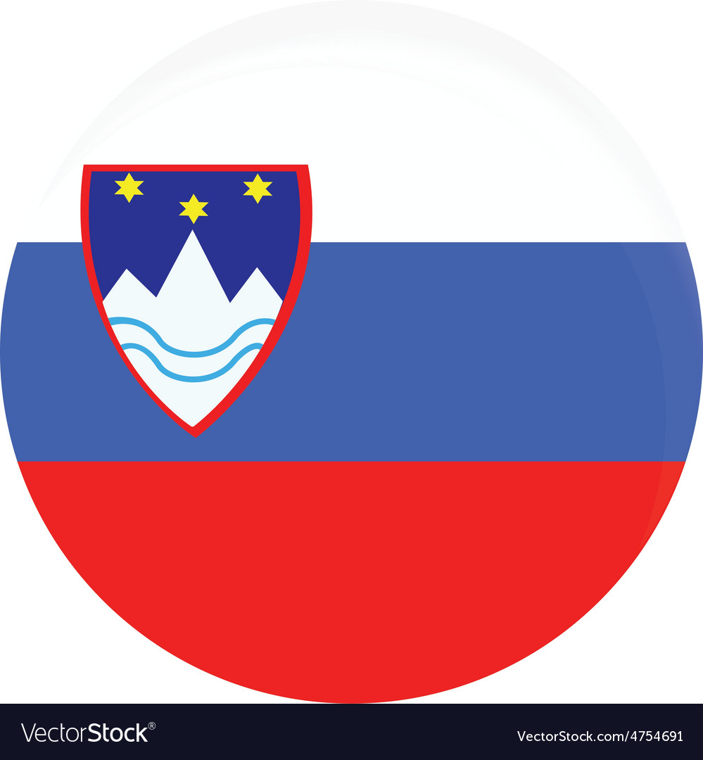 Slovenia flag vector | Price: 1 Credit (USD $1)