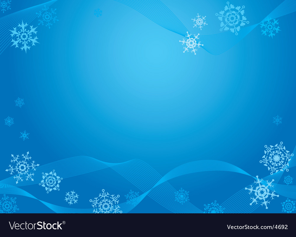 Christmas greeting card blue vector | Price: 1 Credit (USD $1)
