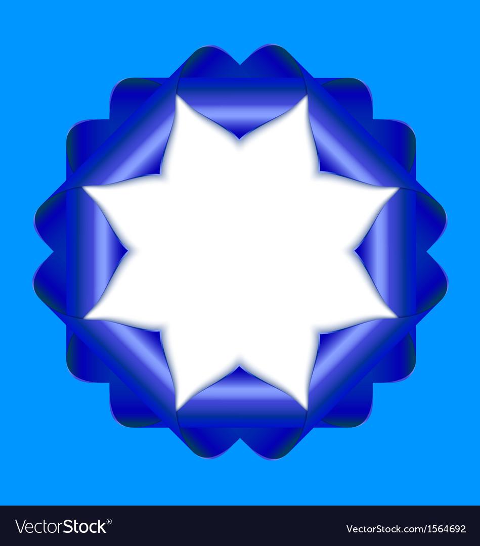 Decorative rosette vector | Price: 1 Credit (USD $1)