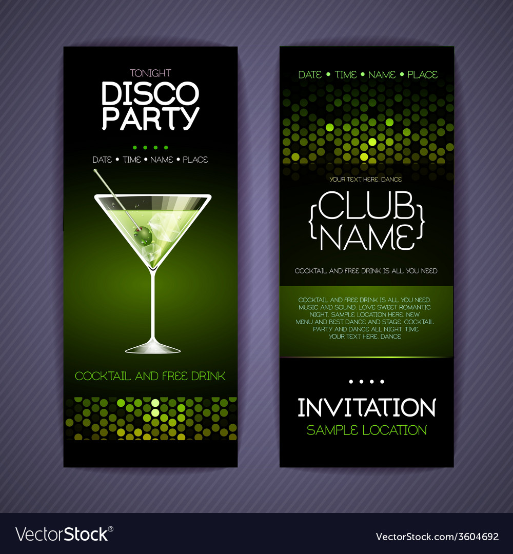 Disco corporate identity templates vector | Price: 1 Credit (USD $1)