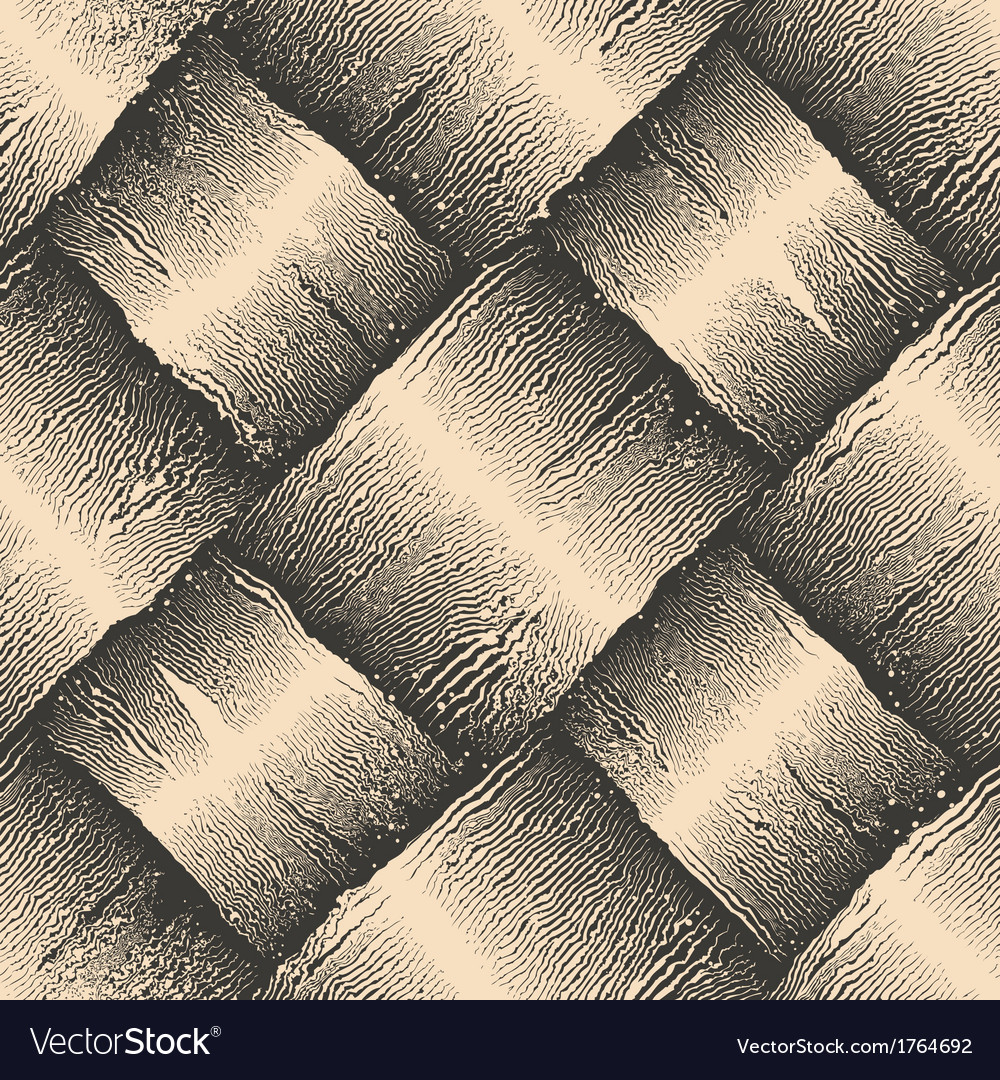 Engraving aged rough basket texture vector | Price: 1 Credit (USD $1)