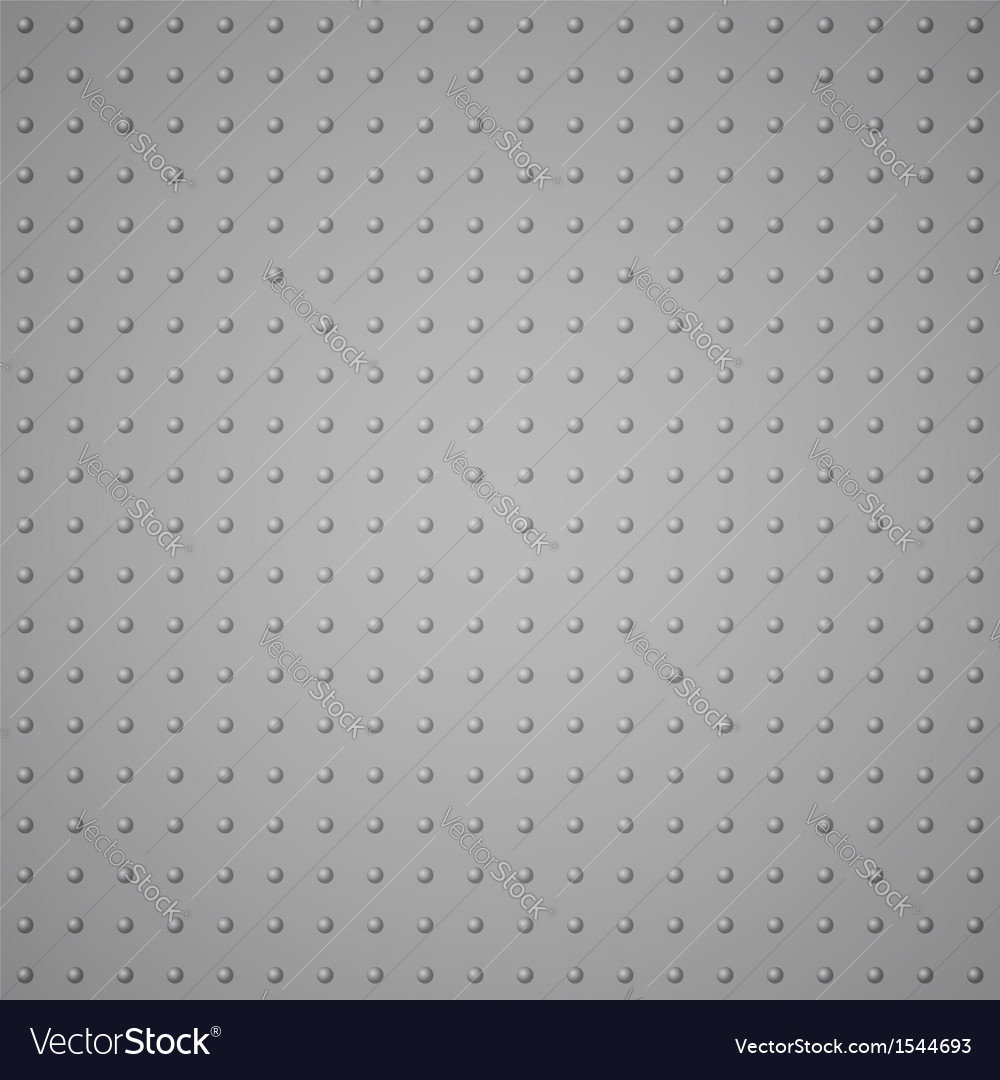 The texture from raised dots imitation metal vector | Price: 1 Credit (USD $1)