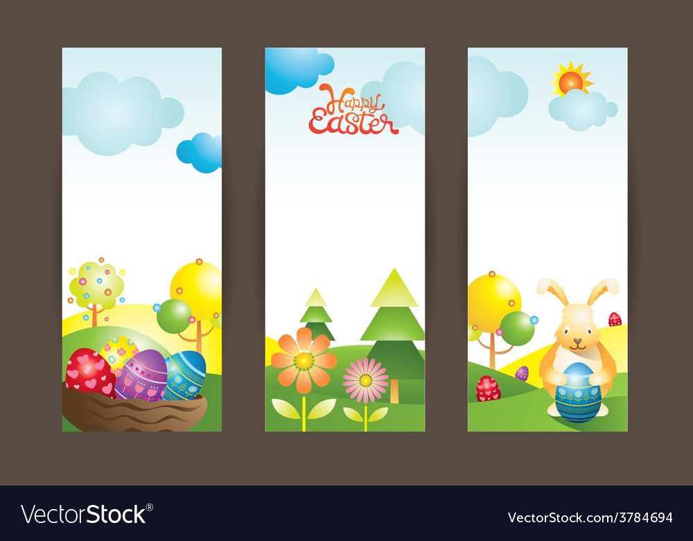 Easter background and backdrop vector | Price: 3 Credit (USD $3)