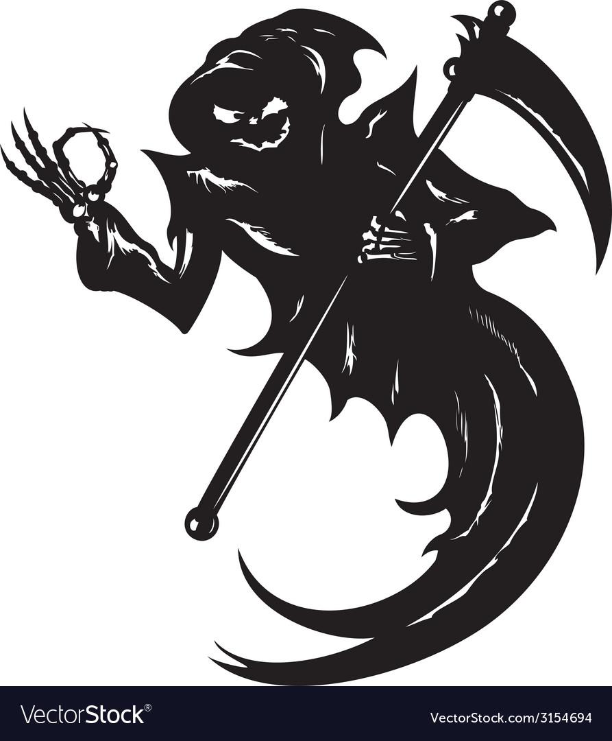 Funny grim reaper vector | Price: 1 Credit (USD $1)