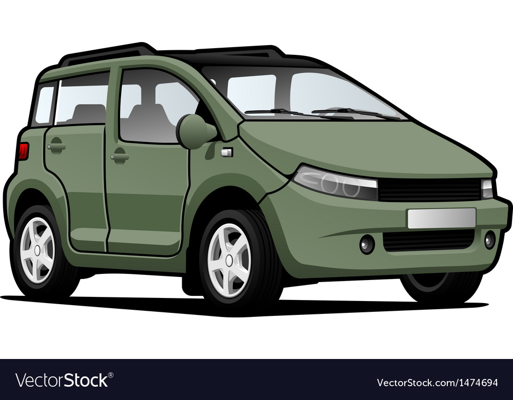 Micro car vector | Price: 1 Credit (USD $1)