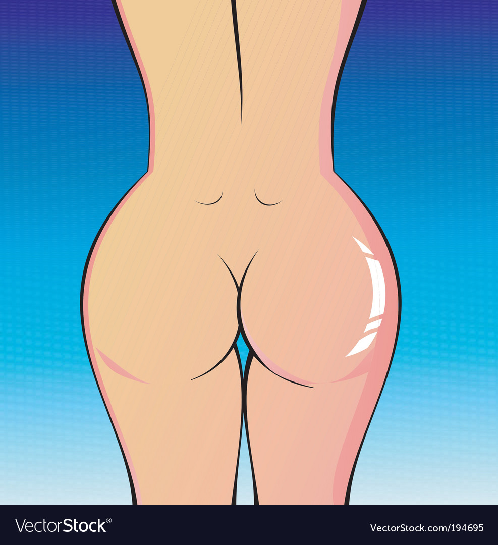 Lady's naked body vector | Price: 3 Credit (USD $3)