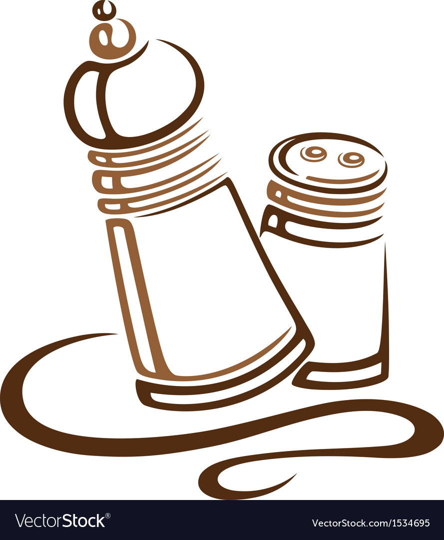 Salt pepper vector | Price: 1 Credit (USD $1)