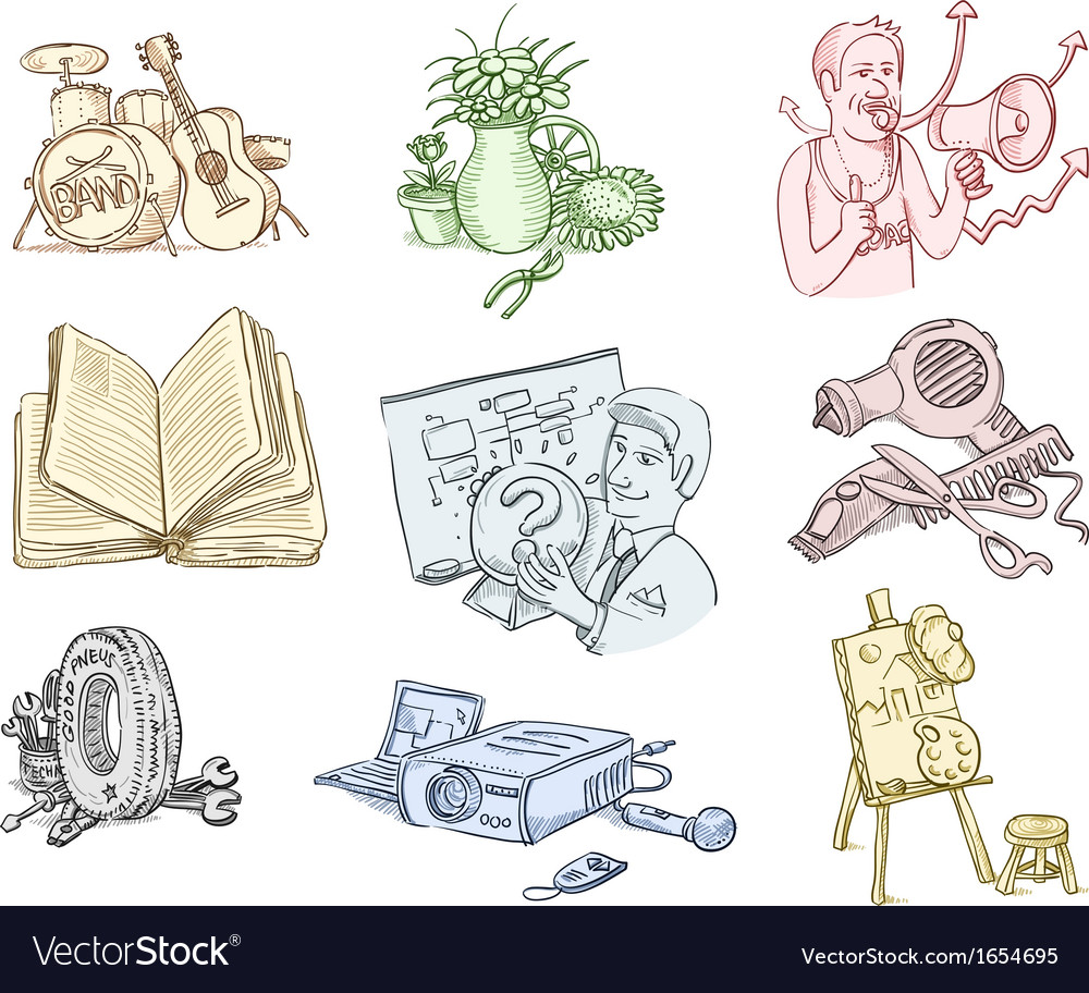 Work equipment and tools vector | Price: 1 Credit (USD $1)