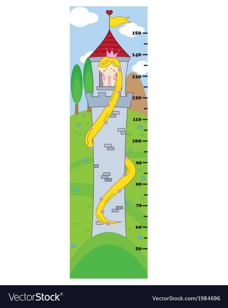 Bumper children meter wall vector | Price: 1 Credit (USD $1)