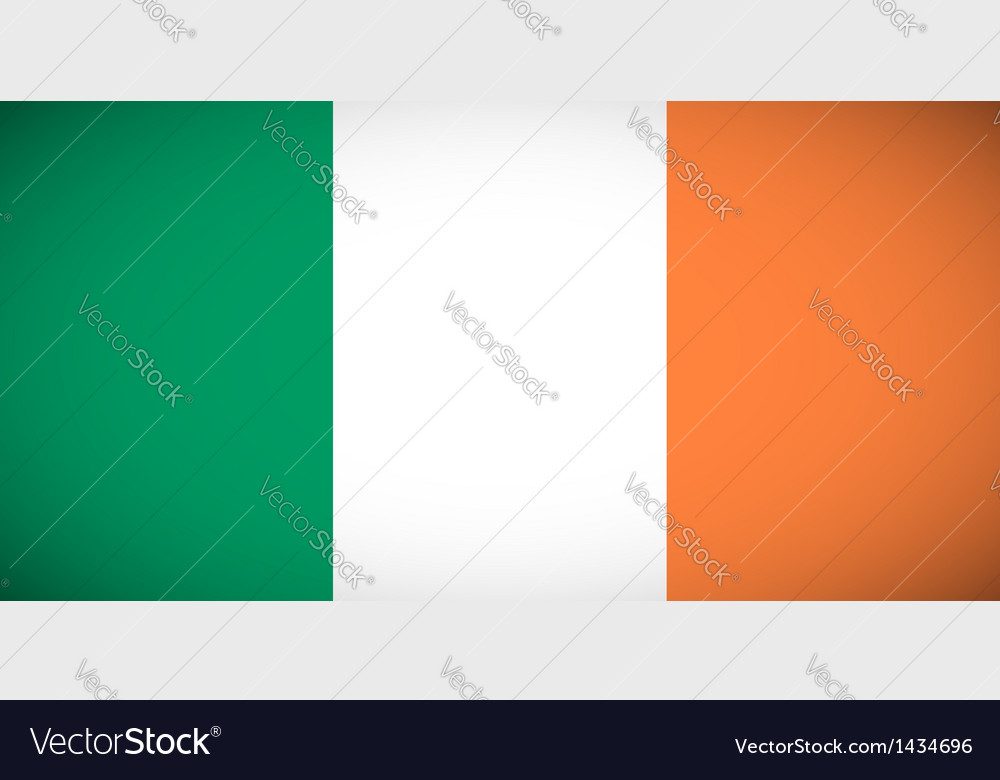 National flag of ireland vector   Price: 1 Credit (USD $1)