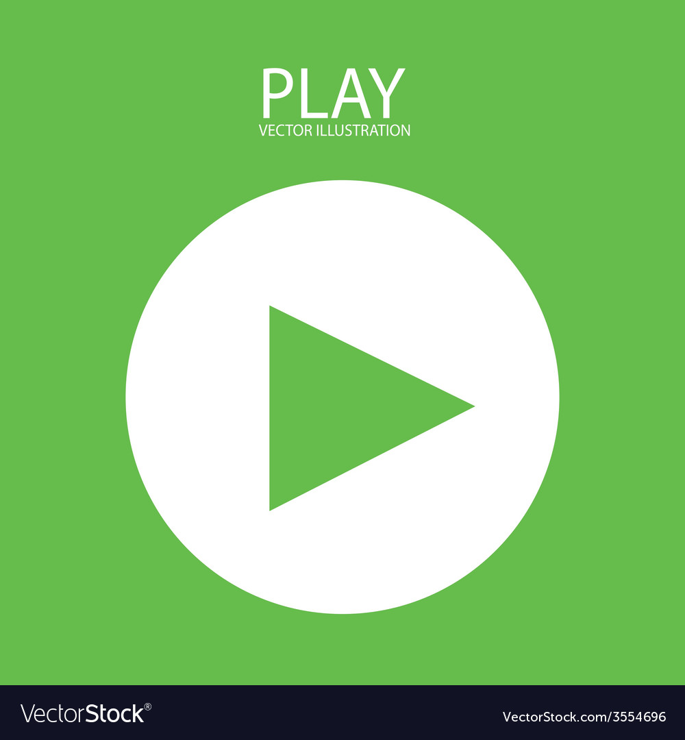 Video play vector | Price: 1 Credit (USD $1)