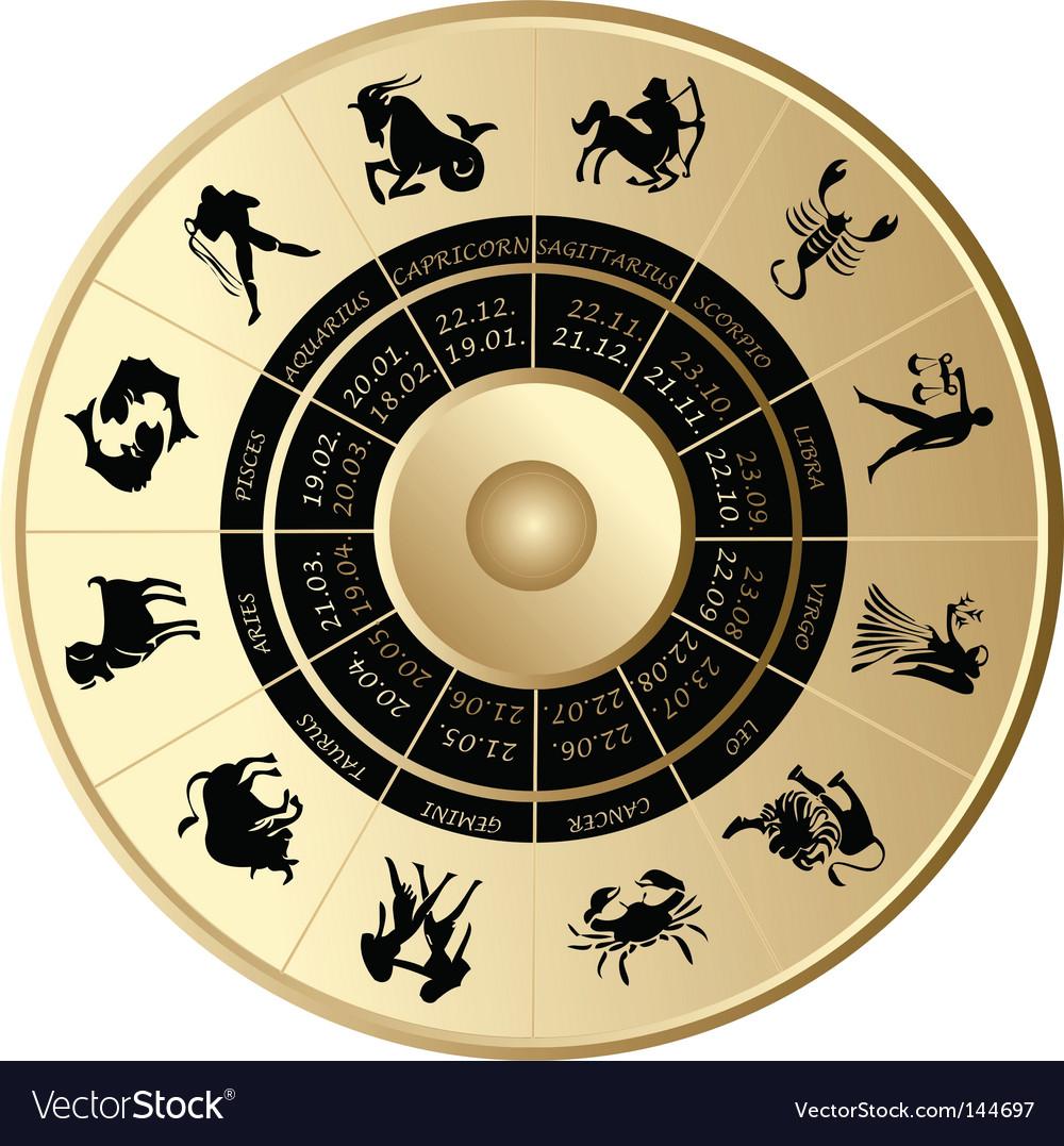 Horoscope vector | Price: 1 Credit (USD $1)