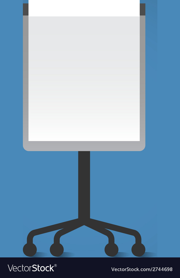 Presentation board vector | Price: 1 Credit (USD $1)