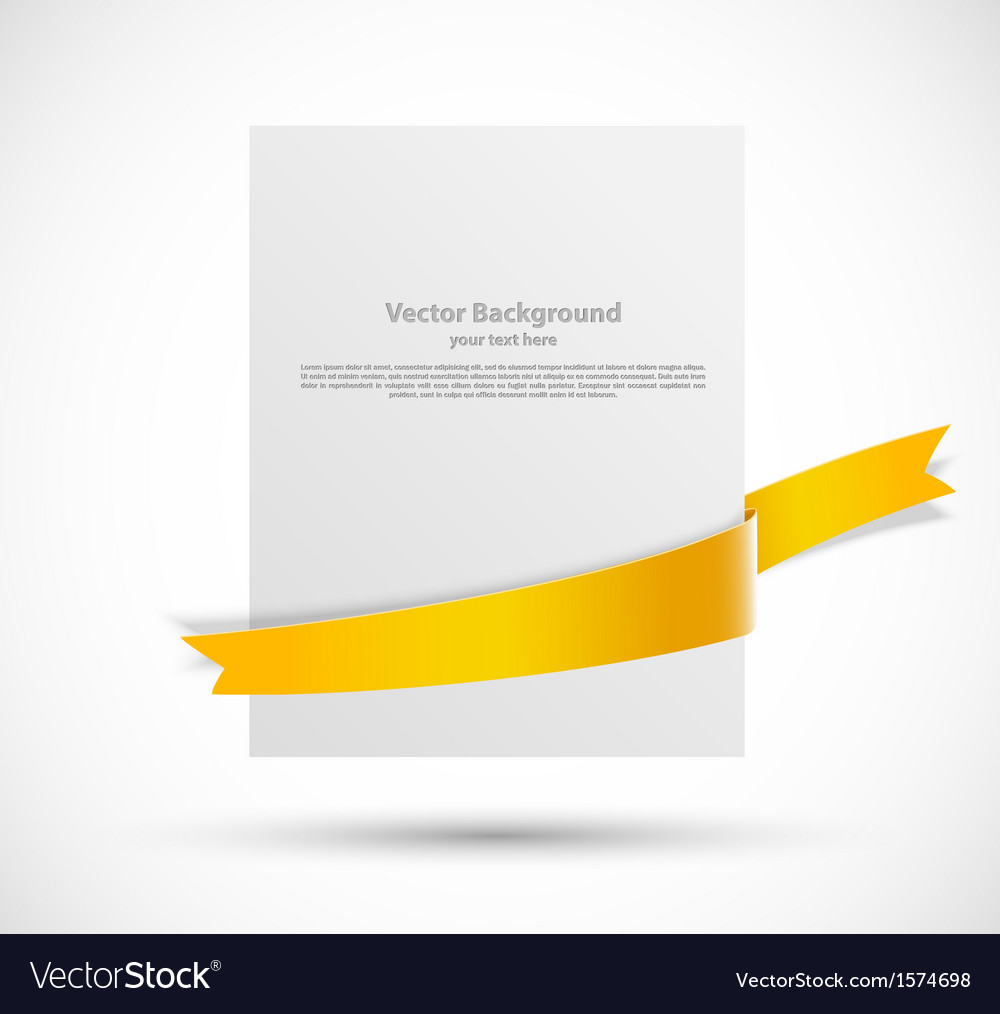 White banner vector | Price: 1 Credit (USD $1)