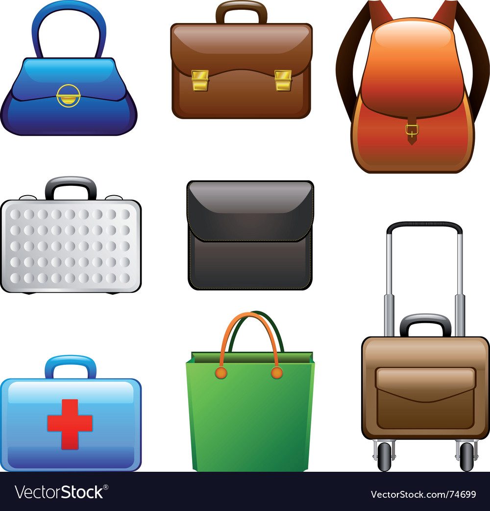 Collection bags vector | Price: 1 Credit (USD $1)