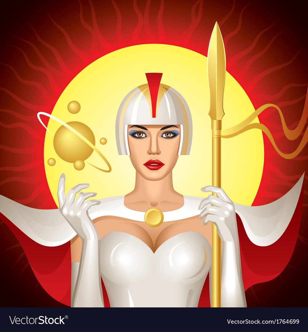 Solar queen vector | Price: 1 Credit (USD $1)