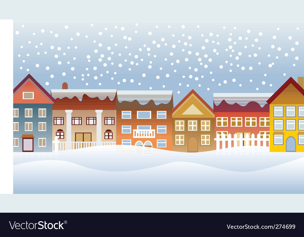 Town and village vector | Price: 1 Credit (USD $1)