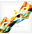 Angular geometric color shapes vector