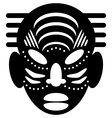 African masks tribal design vector