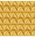 Modern geometric triangle gold background vector