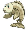 Big aquatic animal vector