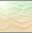 Sea beach sand vector