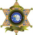 Sheriff badges vector