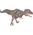Tyrannosaurus dinosaur cartoon vector