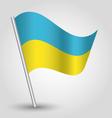 Flag ukraine vector