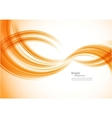 Wavy orange background vector