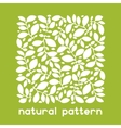 Background of stylized leaves for greeting cards vector