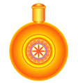 Round flask vector