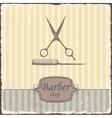 Barber shop vintage retro typography vector