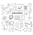 School and education symbols vector