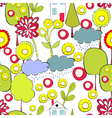 Cartoon style seamless background vector