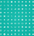 100 computer icons vector