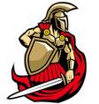 Spartan warrior vector