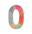 Colorful number zero vector