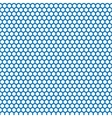 Honeycomb seamless pattern in blue color vector