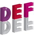 3d font vector