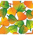 Leaf seamless background vector