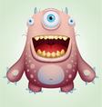 Happy monster vector