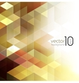 Abstract geometric background with cube vector