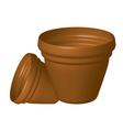 Flowerpots vector