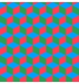 Isometric cube abstract background vector