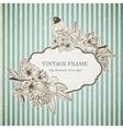 Romantic vintage card vector
