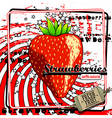 Fruit label vector