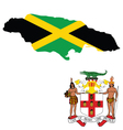 Jamaica flag vector