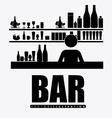 Bar desing vector